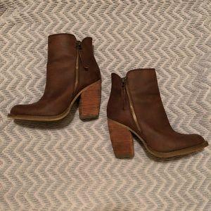 Brown Altar'd State heeled booties